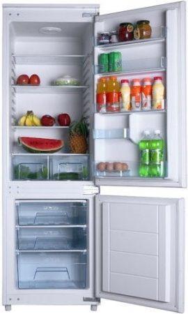 Amica A+ 177 cm No Frost beépíthető kombinált hűtőszekrény BK 316.3 FA-30%!!