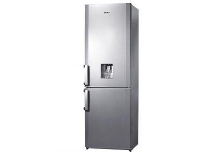 Beko A+ 293L italadagolós kombinált hűtőszekrény INOX CS234020DS-15%!!
