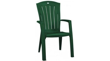 Curver Santorini műanyag szék sötét zöld