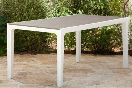 KETER Harmony fa hatású műanyag kerti asztal -29%!!!