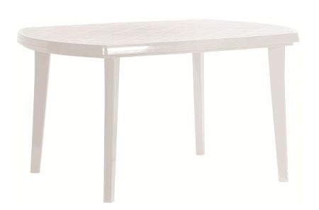 CURVER Elise asztal 137x90 cm fehér -8%!!!