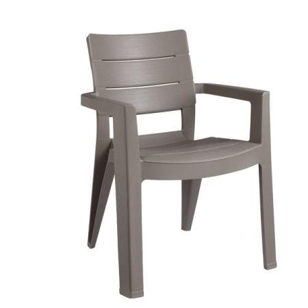 Curver Ibiza műanyag kerti szék cappuccino-20%!!
