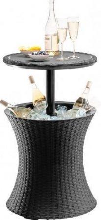 KETER Cool bar műrattan italtartó asztal szürke -19%!!!