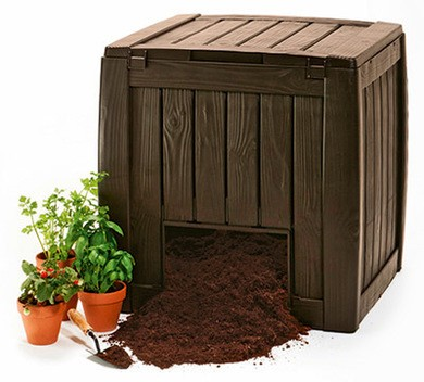 KETER Deco Composter 340 L komposztáló -20%!!!
