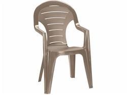 CURVER Bonaire magastámlás műanyag kerti szék cappuccino -19%!!!