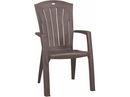 Curver Santorini műanyag szék cappuccino