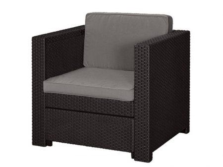 Keter Provence armchair műrattan kerti fotel barna-15%!!