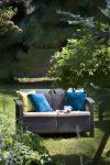ALLIBERT Corfu Love Seat műrattan kanapé 2 személyes barna -13%!!!