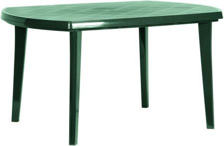 CURVER Elise asztal 137x90 cm zöld -17%!!!