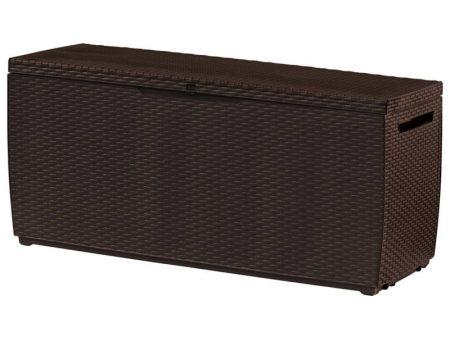 Curver Rattan Box 270 L Műanyag Kerti Láda barna-15%!!