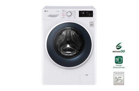 LG F14WM8TS2 8 kg A+++-40% 1300 rpm gőz Direct Drive elöltöltős mosógép -32%!!
