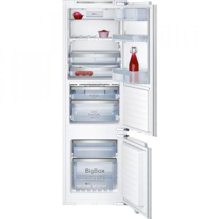 Neff A++ No Frost 245L beépíthető kombinált hűtőszekrény K8345X0-26%!!