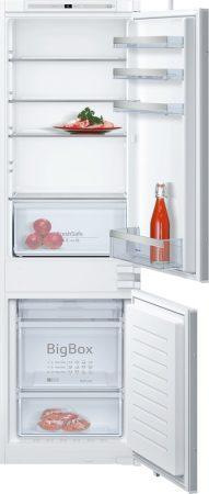 Neff A++ No Frost 255L beépíthető kombinált hűtőszekrény KI7862S30-26%!!
