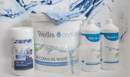 Wellis Crystal BIO vegyszercsomag jakuzzihoz nagy