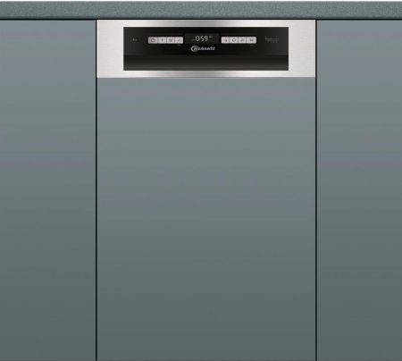 Whirlpool Bauknecht A++ 10 ter. részlegesen beépíthető mosogatógép INOX BSBO 3023PFX-39%!!