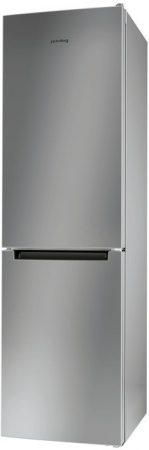 Whirlpool Privileg A++ 339L alulfagyasztós kombinált hűtő INOX PRB 386S-39%!!