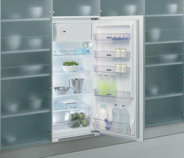 Beépíthető hűtő árgép